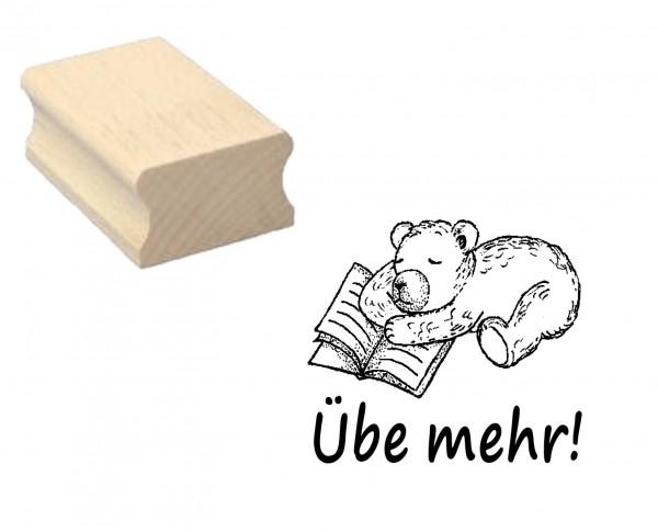Lehrerstempel « Übe mehr!»