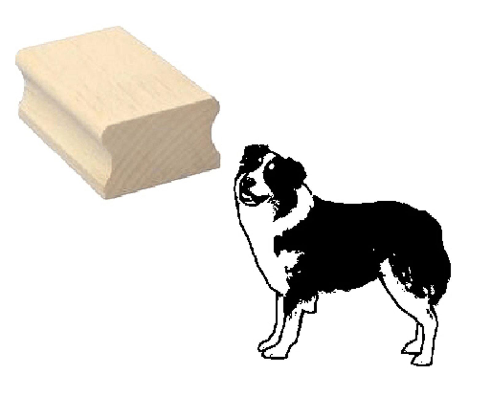 """stempel motivstempel """"australian shepherd"""" hund"""
