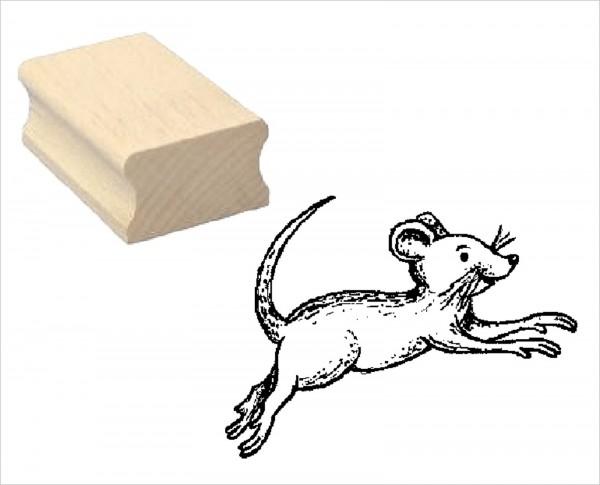 Motivstempel « Springende Maus »