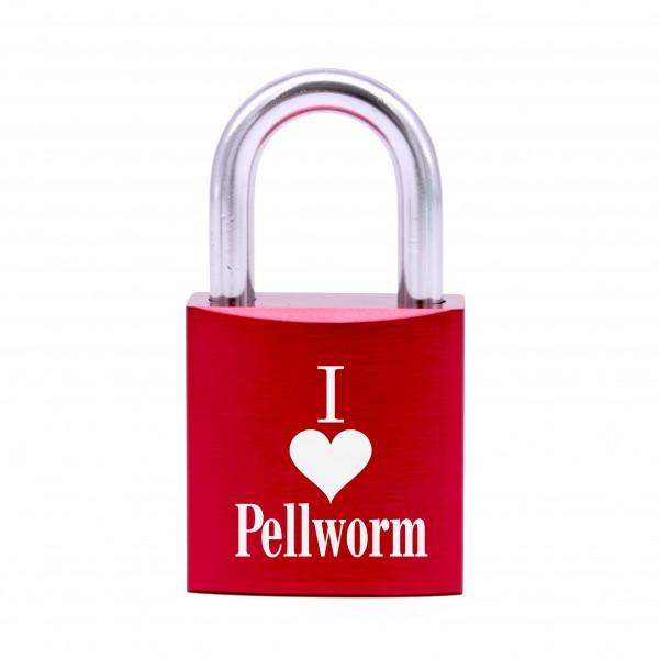 Schloss mit Gravur I love Pellworm • 5 Farben
