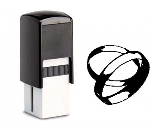 Bonuskartenstempel Ringe - 10 x 10 mm