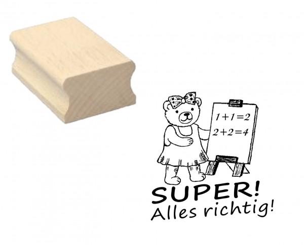 Lehrerstempel « Super! Alles richtig!»