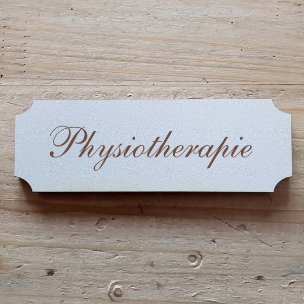 « Physiotherapie » Hinweisschild