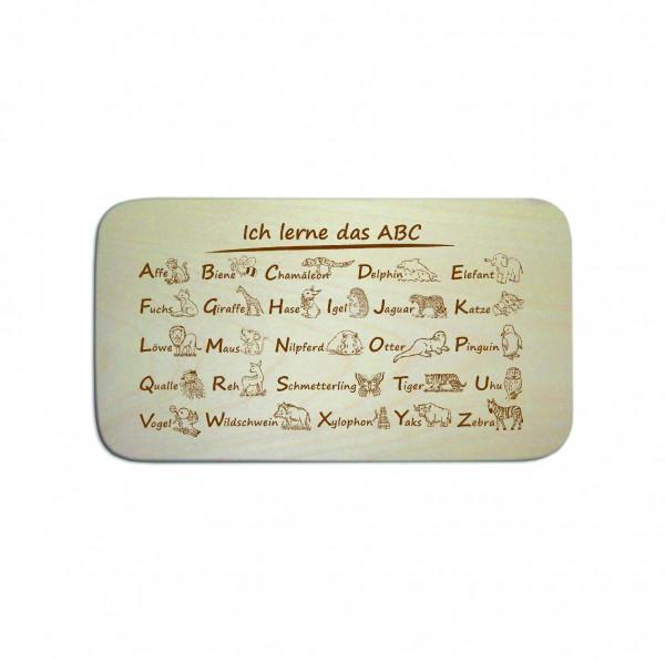 Frühstücksbrettchen « ABC »
