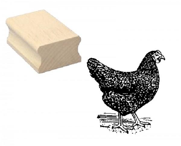 Motivstempel « Schwarzes Huhn »